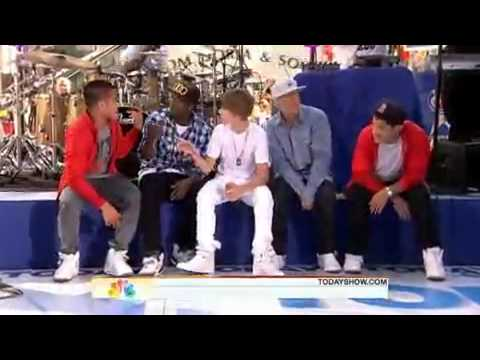 Justin Bieber - One Time (Live On The Today Show 6/4/2010)