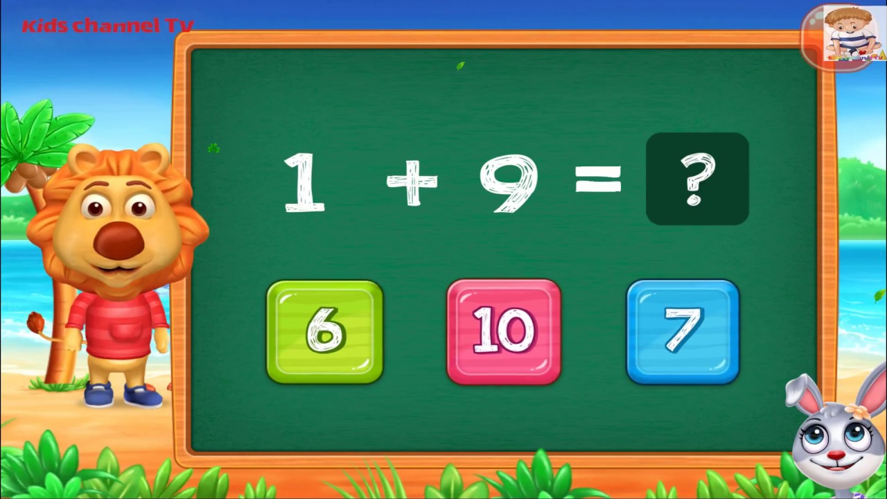 Math Kids Add Subtract Count And Learn Educational Games