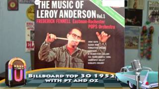 Billboard number 1 1952 Leroy Anderson   blue tango with pt n oz