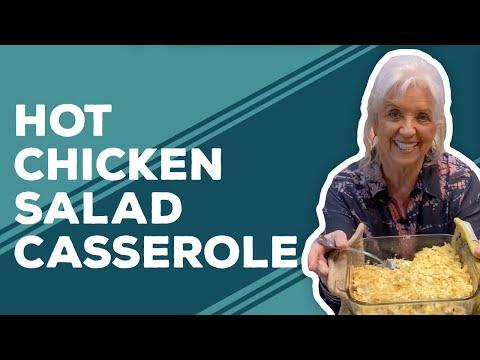 Quarantine Cooking: Hot Chicken Salad Casserole Recipe