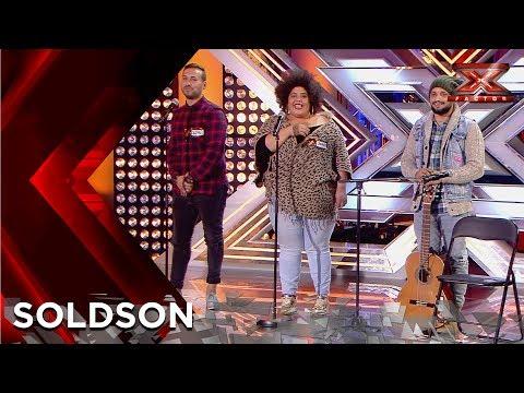 El flamenco fusión de SolDSon convence al jurado   Audiciones 2   Factor X 2018