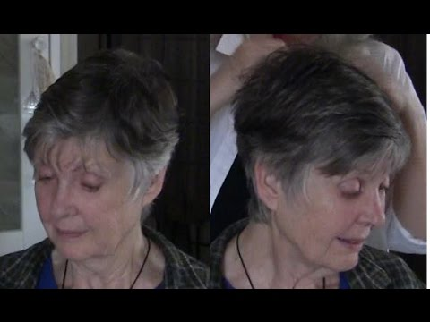 Tips for Short Hairstyles - 78 yr old Model Mary