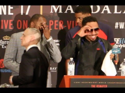 'I WAS SWEATING!' - ANDRE WARD PRICELESS REACTION TO VIRGIL HUNTER SAY HE'D BEAT ANTHONY JOSHUA