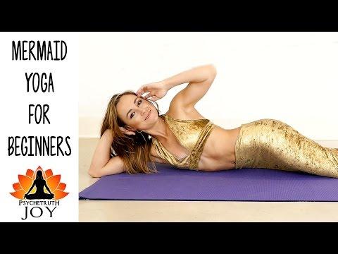 Joy Yoga #8 Relaxing Core Strength Mermaid Workout