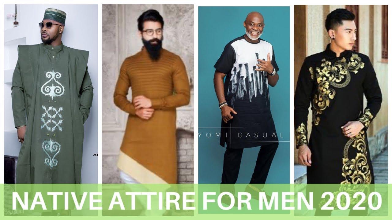 Native Styles For Men 2020 In Agbada And Senator Ft Bolanle Ninalowo Richard Mofe Damijo Youtube