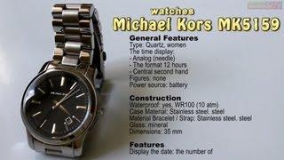 NEKRASOV TV видео обзор часы Michael Kors Runway MK5159