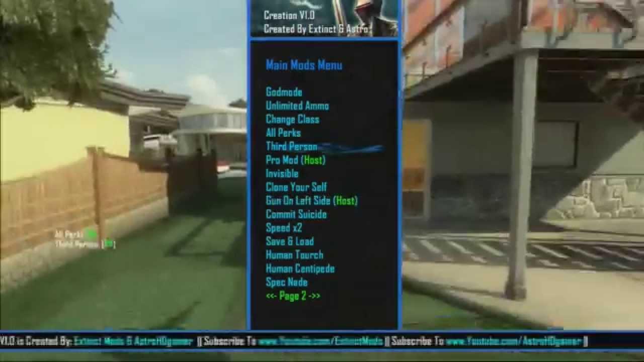 Black Ops 2 (PS3)1 19 GSC Mod menu Creation V1 (Beta Release)