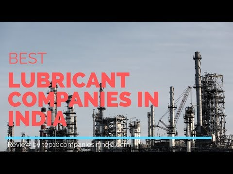 Top 5 lubricants company in india