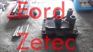 Como testar Bobina de Ignição Linha Ford Zetec Rocam - Fiesta, ka, etc