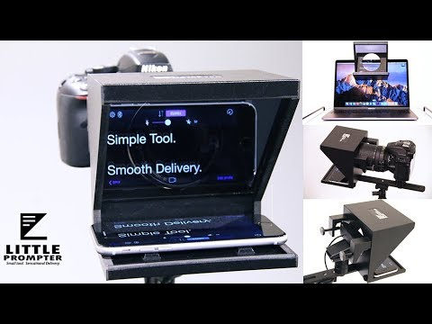 Little Prompter - a new teleprompter for content creators