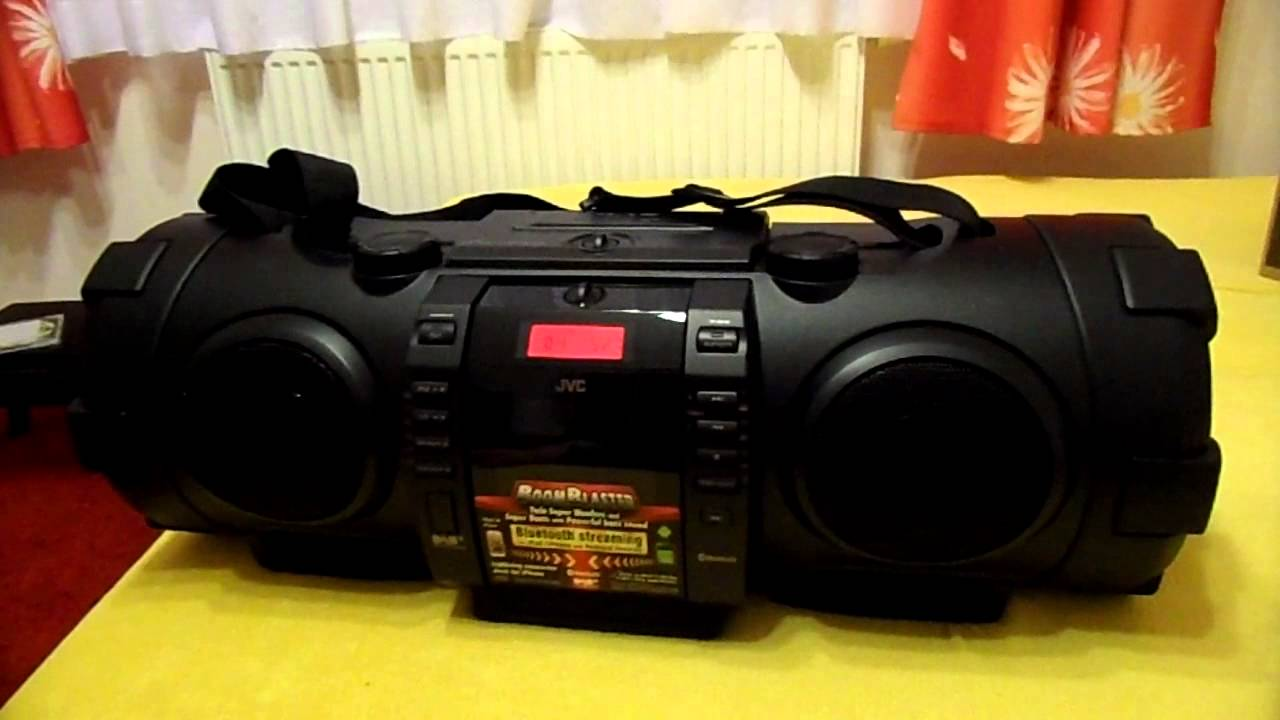 Jvc Rv Nb100 Boomblaster Boombox Recenzja Part 2 Youtube