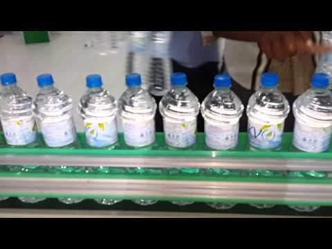 Fully auto packaged drinking water plant akvo