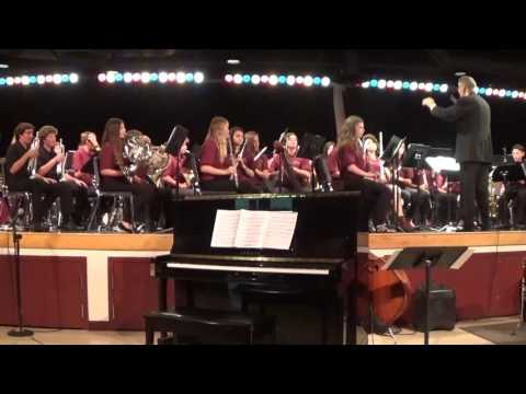 Lindero Canyon Middle School Concert Band 2017: Bright Lights by Robert Sheldon