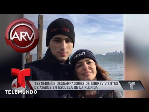 Las víctimas del tiroteo en la escuela Stoneman Douglas   Al Rojo Vivo   Telemundo