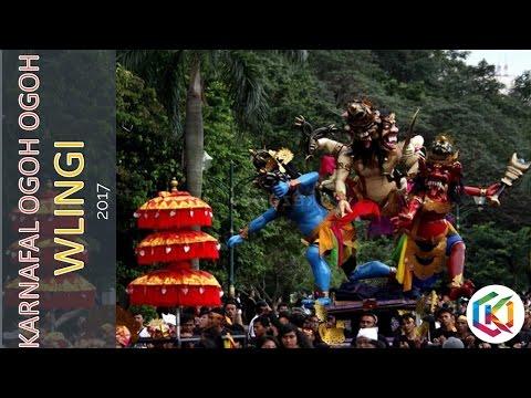 Wow Keren!!! Perayaan Ogoh Ogoh Kota Wlingi