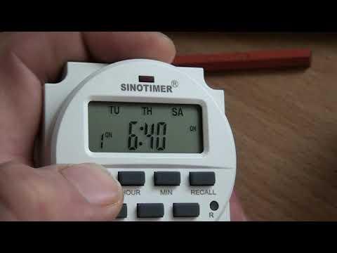 Реле времени TM618N-2 220V_16(8)A