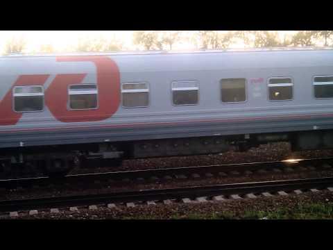 Фирменный поезд «Приосколье» 057В, Москва — Старый Оскол