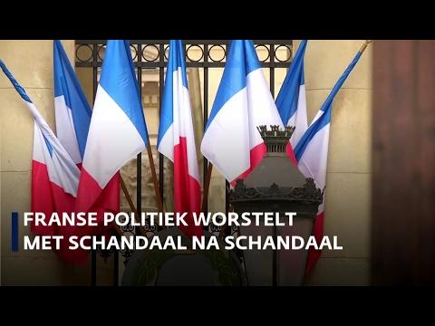 Franse politiek worstelt met schandaal na schandaal