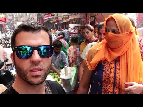 Travel India – Old Delhi Market Walk Around
