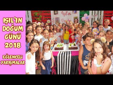 IŞIL 'ın DOĞUM GÜNÜ 2018 Cake Pop...