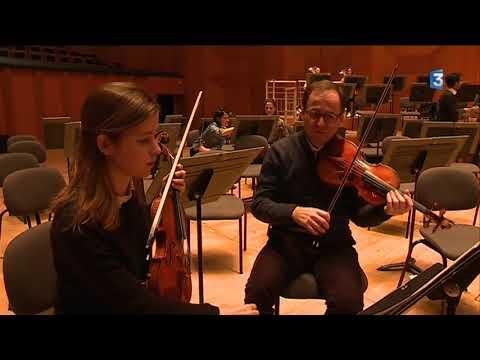 Des musiciens de l'Orchestre national de Lyon et étudiants du Conservatoire