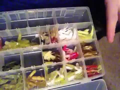 Crappie fishing tackle organization youtube for Fishing tackle organization