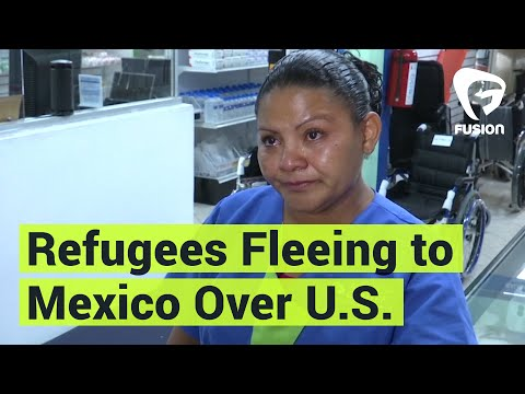 Central American Refugees Are Fleeing to Mexico