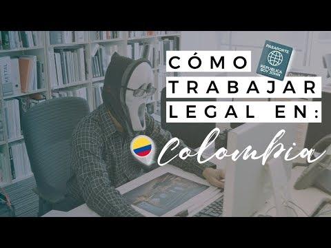 COMO TRABAJAR LEGAL EN COLOMBIA / VENEZOLANO EN BOGOTA