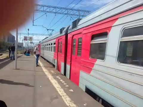 Электропоезд на Ст. Никольское