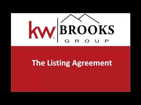 Maryland Listing Agreement Walkthrough