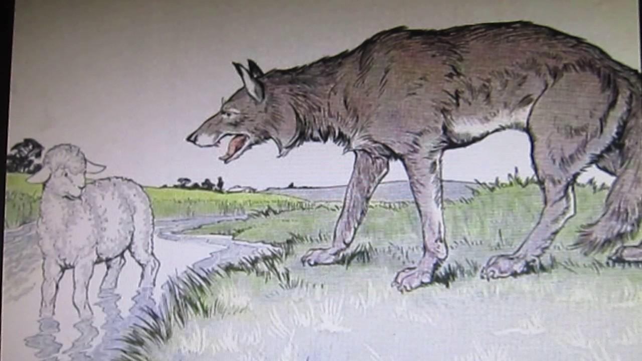 картинки как нарисовать волка и ягненка устал постоянных