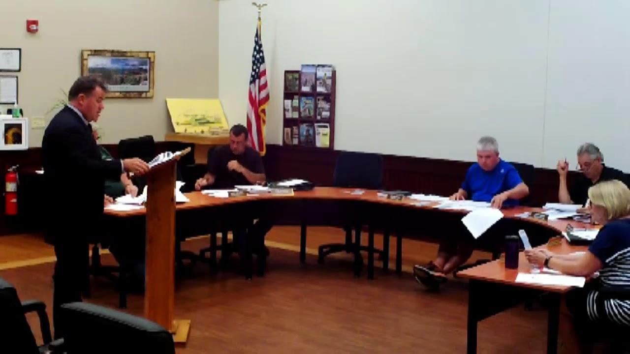 Dannemora Town Board  8-13-18
