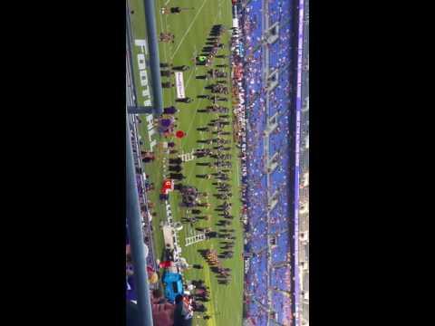 Baltimore Ravens Marching Band 08/11/16