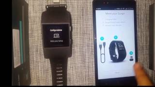 How to Setup your fitbit Surge