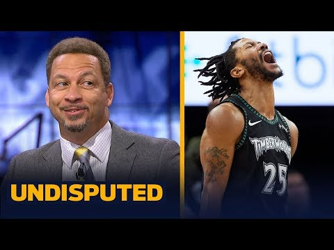 Chris Broussard joins Skip and Shannon to discuss Derrick Rose's 50-point game | NBA | UNDISPUTED
