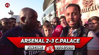 Arsenal 2-3 Crystal Palace | Elneny Is A Sideways Pass Merchant!
