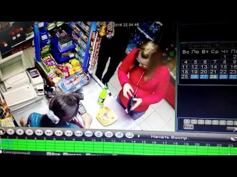 Мошенничество в магазине г.Тюмень(1)