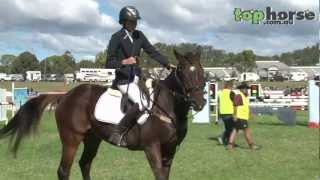 top horse tv   junior am5 showjumping at toowoomba royal show