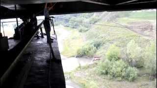 Прыжок с Октябрьского моста.