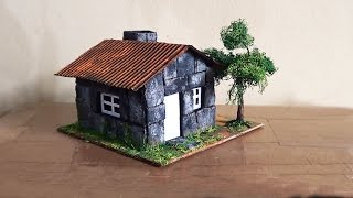 Maquete Casa de Pedra / Maquette Stone House / Casa De Piedra