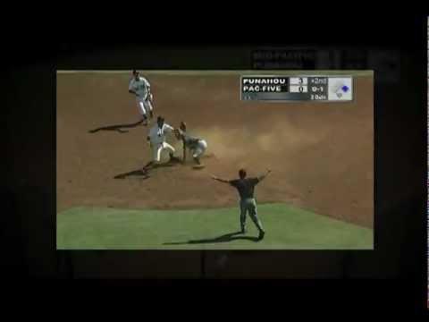 Beau Branton 2012 Sophomore Varsity Highlights (Punahou School) Shortstop