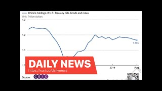 Daily News - Chart of the day: China cut its US treasury for the third straight month