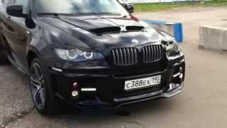 Тюнинг BMW X6 / X5. Авторский дизайн капота от Кузовной Студии 31(, 2015-08-20T13:02:46.000Z)