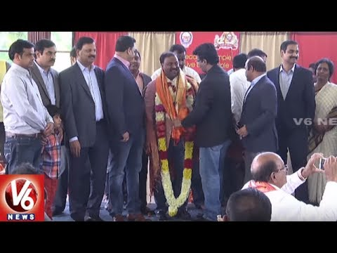 NRI's Felicitates TANA President Satish Vemana | Complimentary Meet At Virginia | V6 USA NRI News