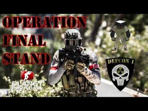 Magfed Paintball South Africa - Operation Final Stand