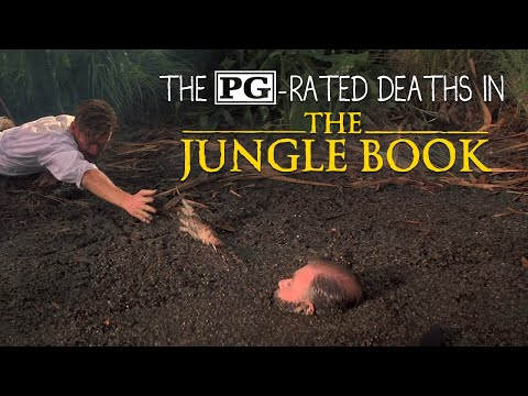The PG-rated deaths in The Jungle Book - YouTube