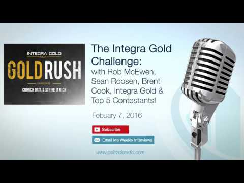 Integra Gold Challenge with Rob McEwen, Sean Roosen, Brent Cook, Integra Gold & Top 5 Contestants!