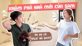 Cùng JUN PHẠM tham quan CĂN NHÀ MỚI TOANH CỦA SAM | Sam Chia Sẻ