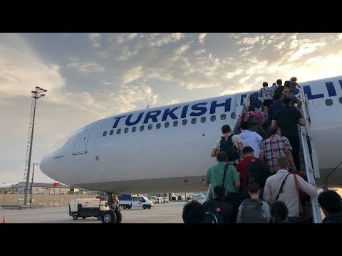 TURKISH AIRLINES | A330-300 | ECONOMY CLASS | ISTANBUL - AMSTERDAM | FLIGHT REVIEW