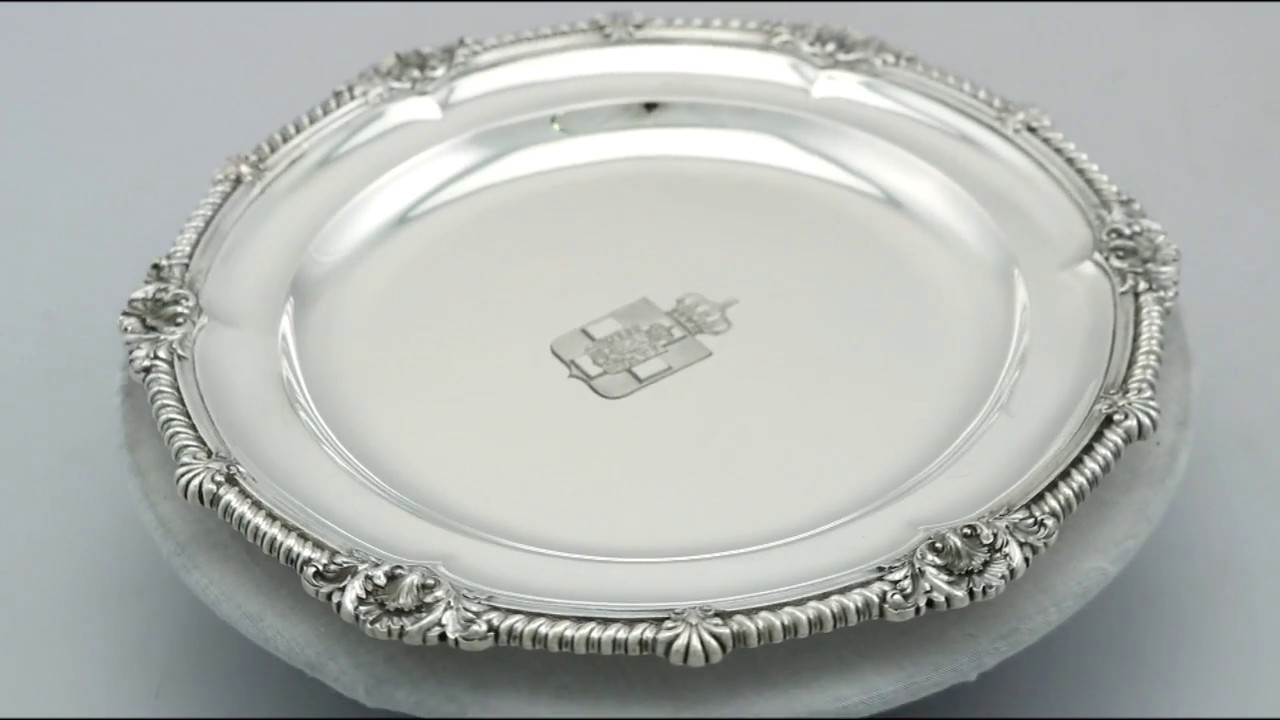 Sterling Silver Plates by Walter \u0026 John Barnard - Antique Victorian - AC Silver (A7180)  sc 1 st  YouTube & Sterling Silver Plates by Walter \u0026 John Barnard - Antique Victorian ...